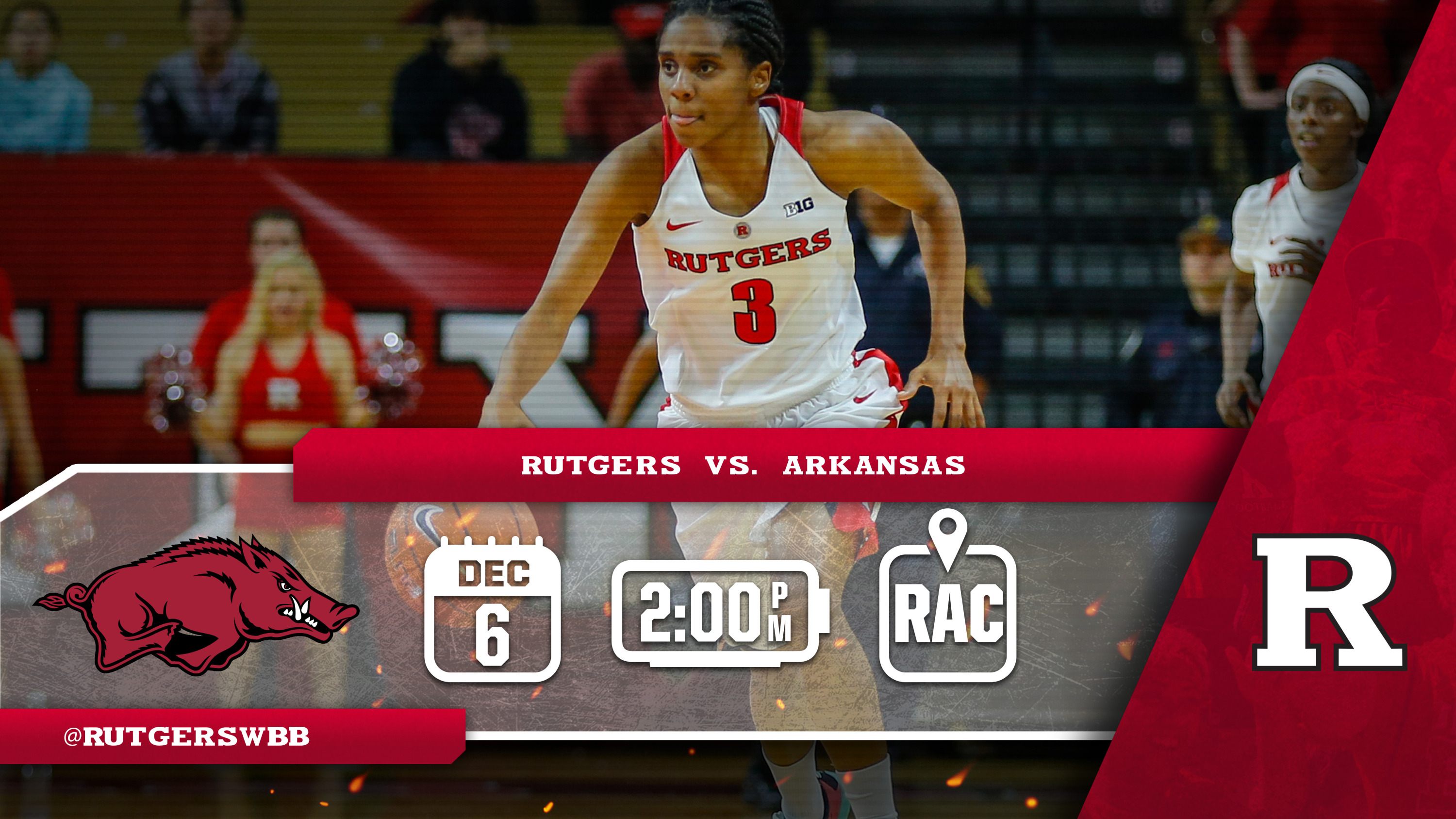 WBB Begins Five Game Homestand with Arkansas The ficial Site